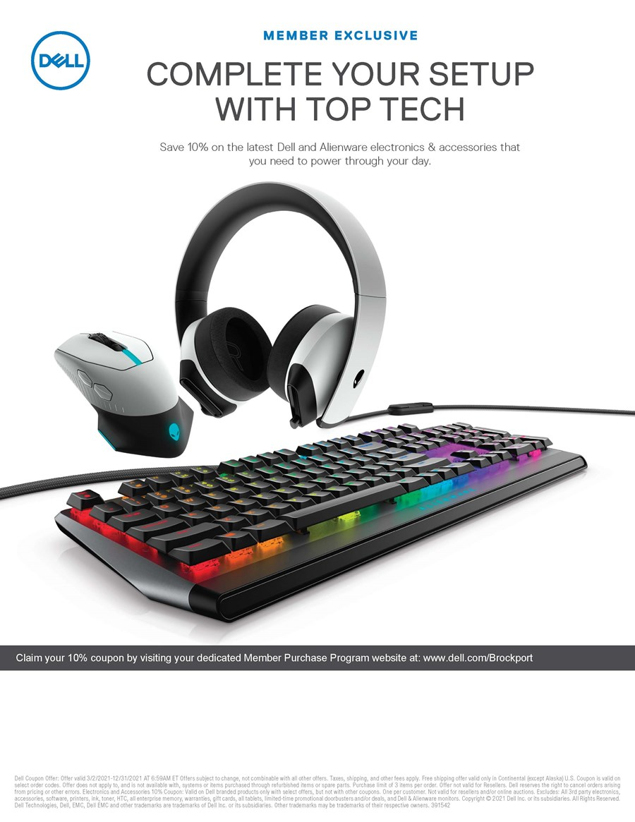 Dell Member Exclusive3/2/21-12/31/21