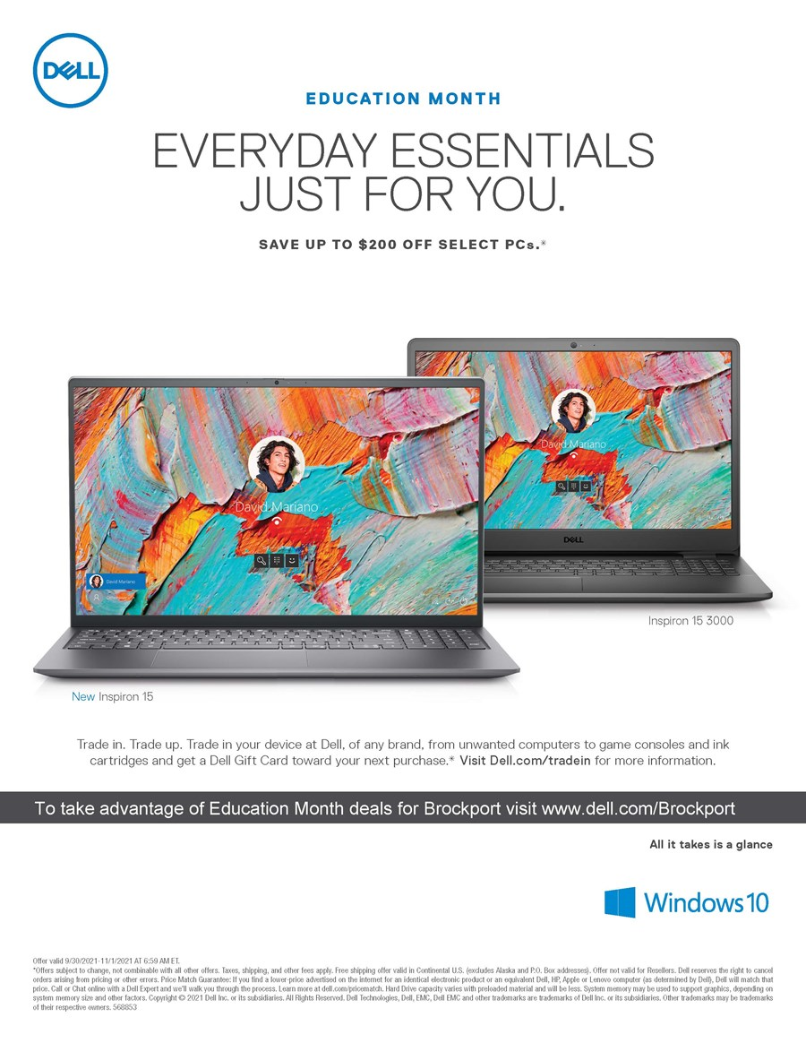 Dell Education Month Flyer